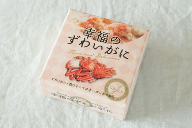 北海道/味の海豊「幸福のずわいがに」、100グラム、税込み1080円