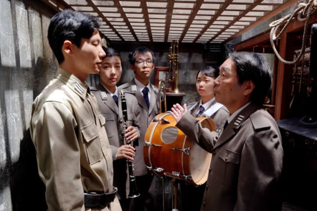 池田暁監督「きまじめ楽隊のぼんやり戦争」(C)2020「きまじめ楽隊のぼんやり戦争」フィルムプロジェクト