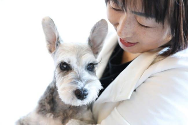 志田周子さんと、アリスちゃん