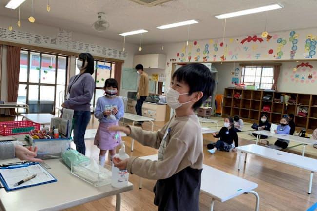 東京都練馬区の石神井西小学童クラブは感染対策を講じてコロナ期間中も開所した(3月23日)