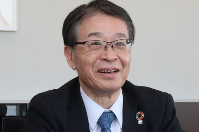 明電舎の三井田健社長