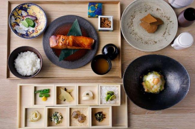 ランチコース「昼餉」でも現代里山料理を存分に堪能できる