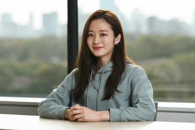「ミス・オブ・ミス・キャンパス・クイーン・コンテスト2021」でグランプリを受賞した東京大学文科2類2年の神谷明采さん