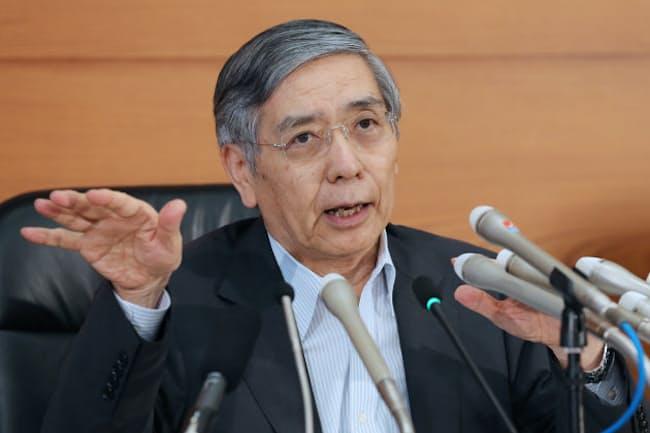 日銀の黒田東彦総裁は2013年春に「異次元」の金融緩和政策を始めた