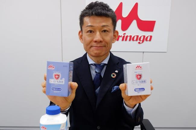 森永乳業の古田雄一郎さん