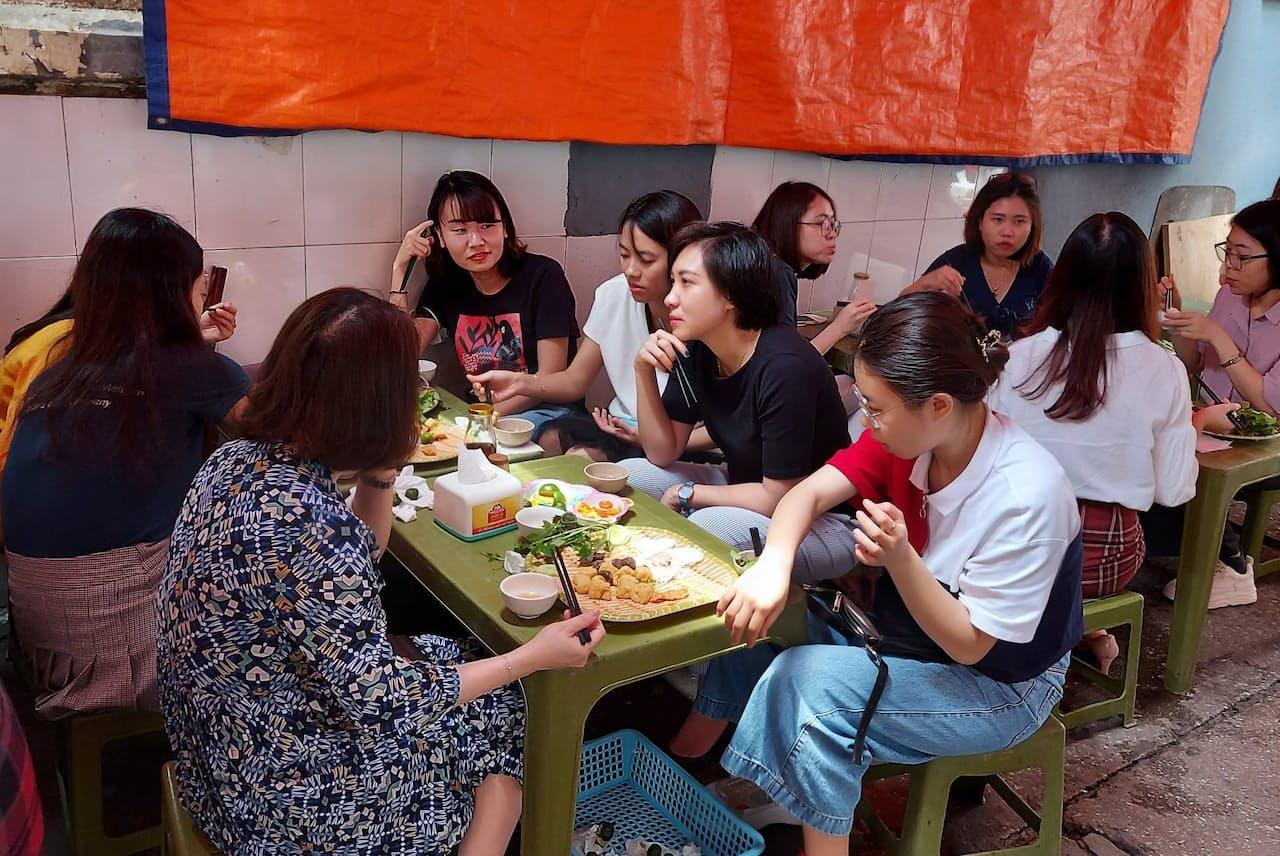 コロナを抑え込んでいるベトナムでは日常生活に変わりはない(ハノイ市)