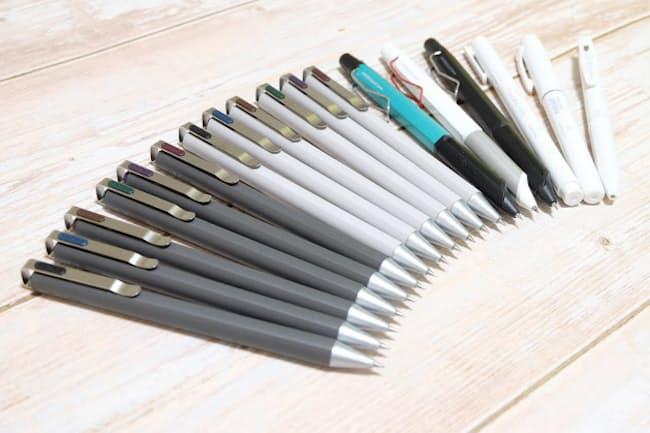 機能性や個性に特徴がある最新ペン