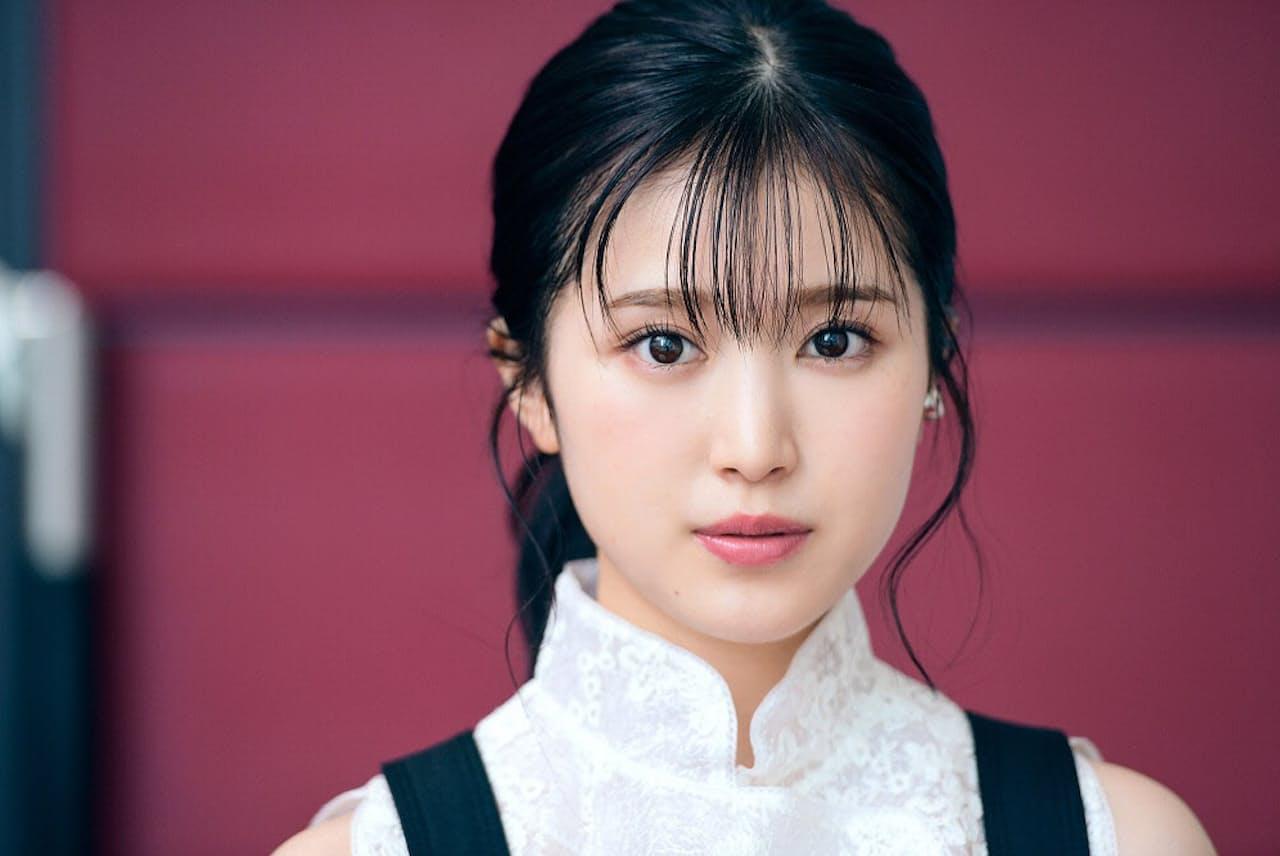 全国公開中の『しあわせのマスカット』で映画単独初主演を飾った福本莉子さん