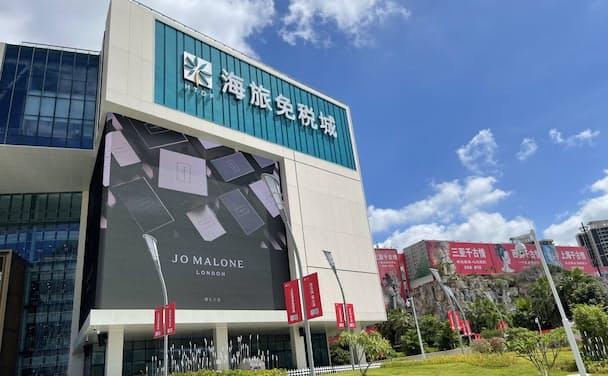 日本企業は海南島の免税店での販売に力をいれている