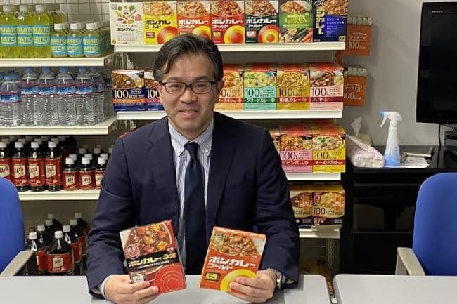大塚食品の製品部食品・飲料事業食品課の伊藤征樹課長