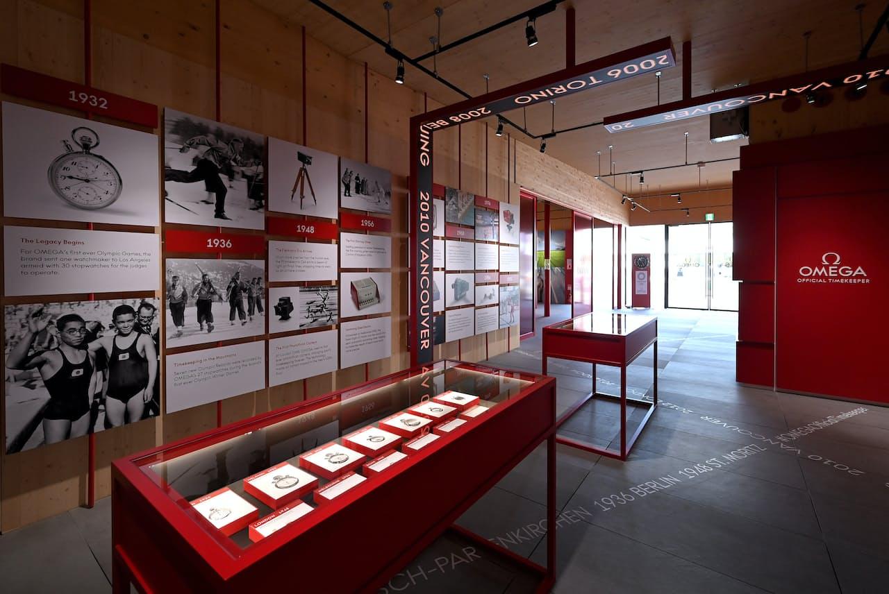 オメガは1932年のロサンゼルス大会から競技の計時技術を磨いてきた