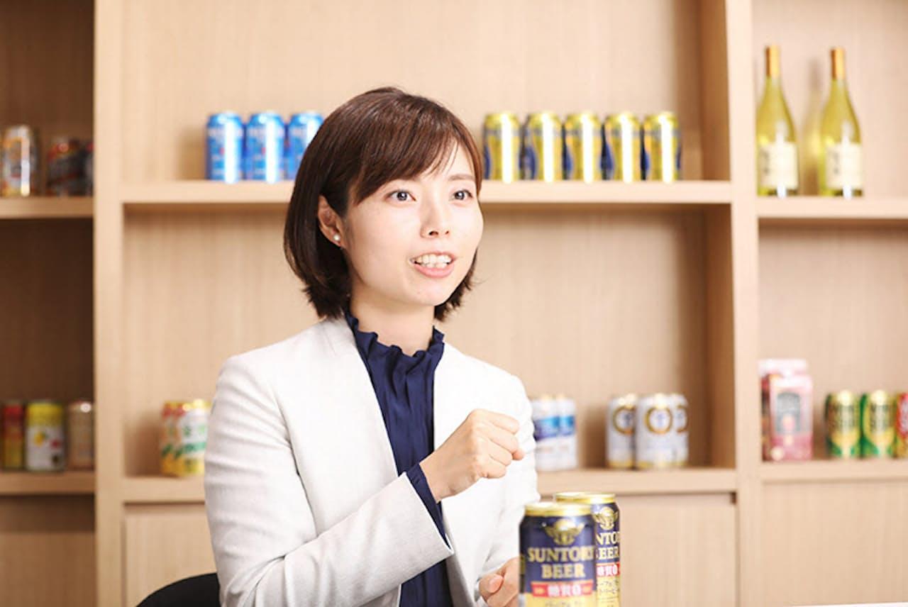 パーフェクトサントリービールの開発をけん引した稲垣亜梨沙さん