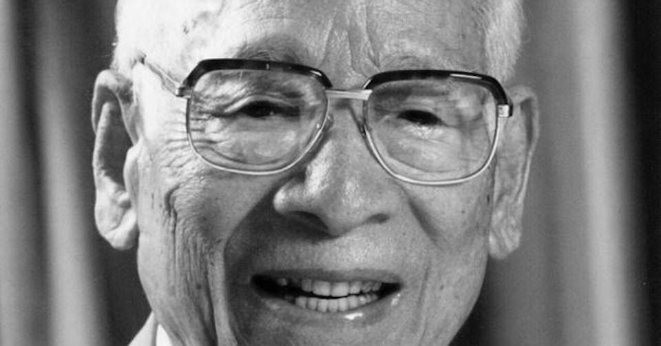 安藤百福(日清食品会長)2001年9月掲載
