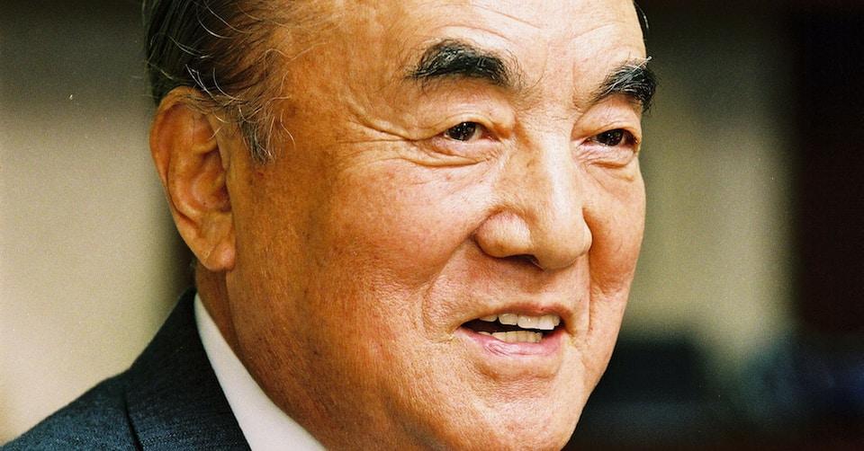 中曽根康弘(元首相)1992年1月掲載